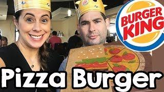 PIZZA BURGER no Burger King - É verdade?!
