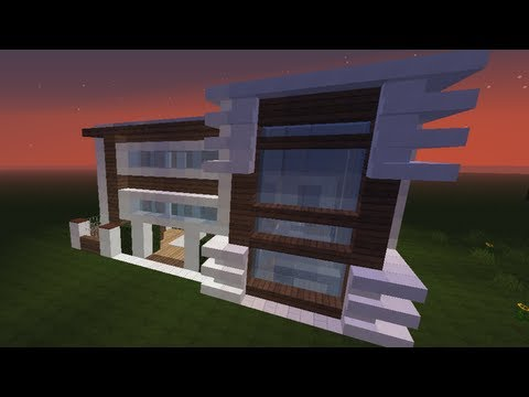 Tutorial minecraft 1 come costruire una villa spettac for Minecraft case moderne