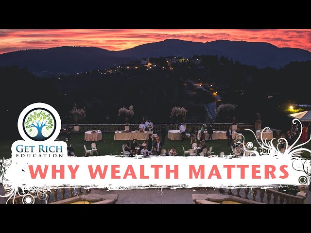 Why Wealth Matters