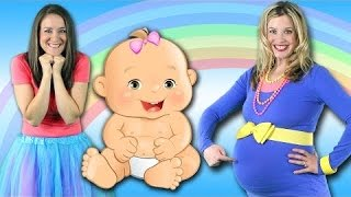 Baby Song - Mommy's Got a Baby in Her Belly - Children's Song for brothers & sisters!