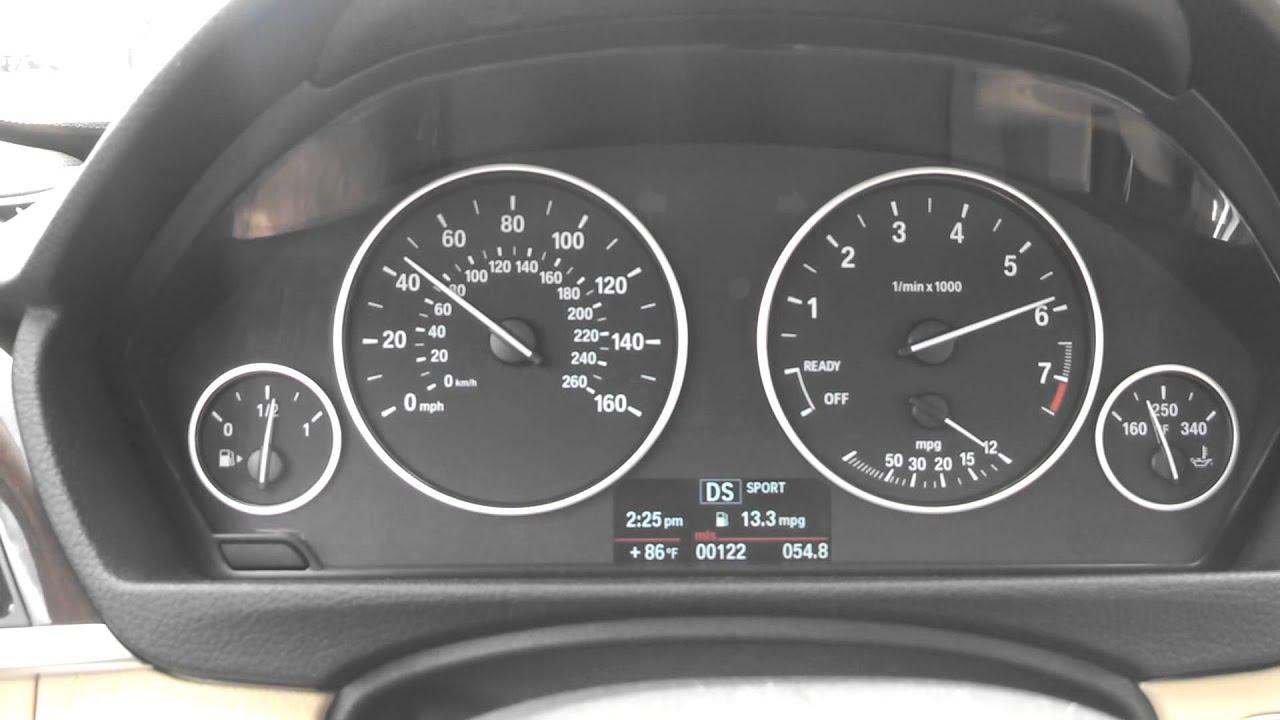 2014 BMW 320i 0 60 mph