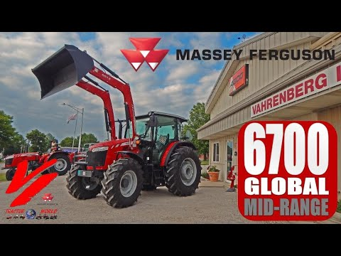 Massey Ferguson 6700 Global Series Mid Range Tractor: Introduction and Demo