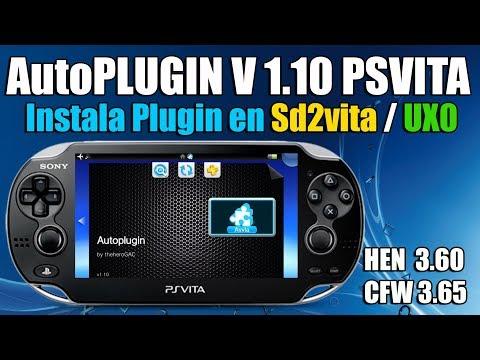 AutoPlugin V 1.10 PSvita 3.60 - CFW 3.65 ENSO