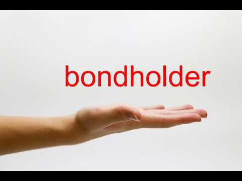 How to Pronounce bondholder - American English