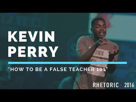 "RHETORIC 2016 | Kevin Perry - ""How to be a False Teacher 101"""