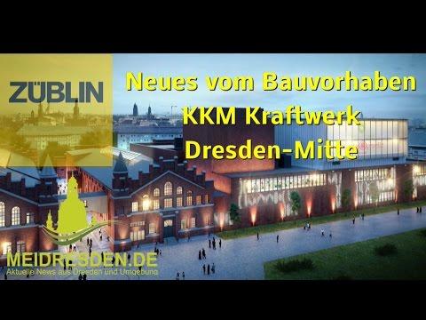 """Neues vom Bauvorhaben KKM """"Kraftwerk Dresden-Mitte"""" (42): Baubegehung am 27 Januar 2016"""