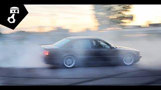 BMW 740i мкпп (E38) Тест-драйв; zhmuraTV
