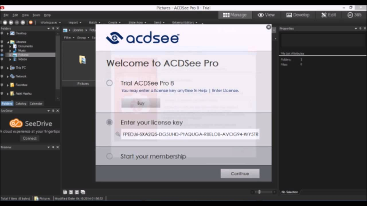 Acdsee Pro 8 Serial Keys Youtube