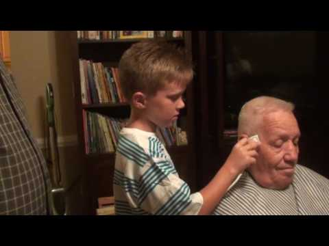 Faded cut on old guy by 8 year old Grant Cassidy !!
