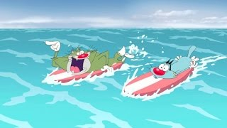 Oggy en de kakkerlakken - Surf's on