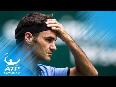 Federer cruises; Nishikori & Zverev triumph | Halle 2017 Highlights Day 2