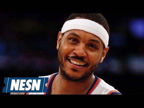 Trade Rumors Surround Carmelo Anthony
