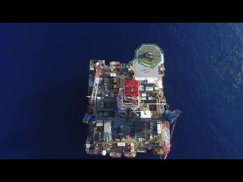 Hakuryu-5 of Japan Drilling Company - Flycam, Aerial Cameraman Ho Chi Minh City, Vietnam