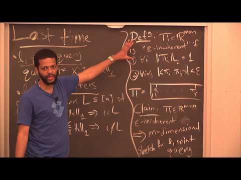 Algorithms for Big Data (COMPSCI 229r), Lecture 6