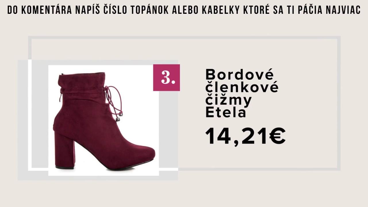 Topánky a Kabelky za najlepšie ceny na Svk/cz - NAJ.SK