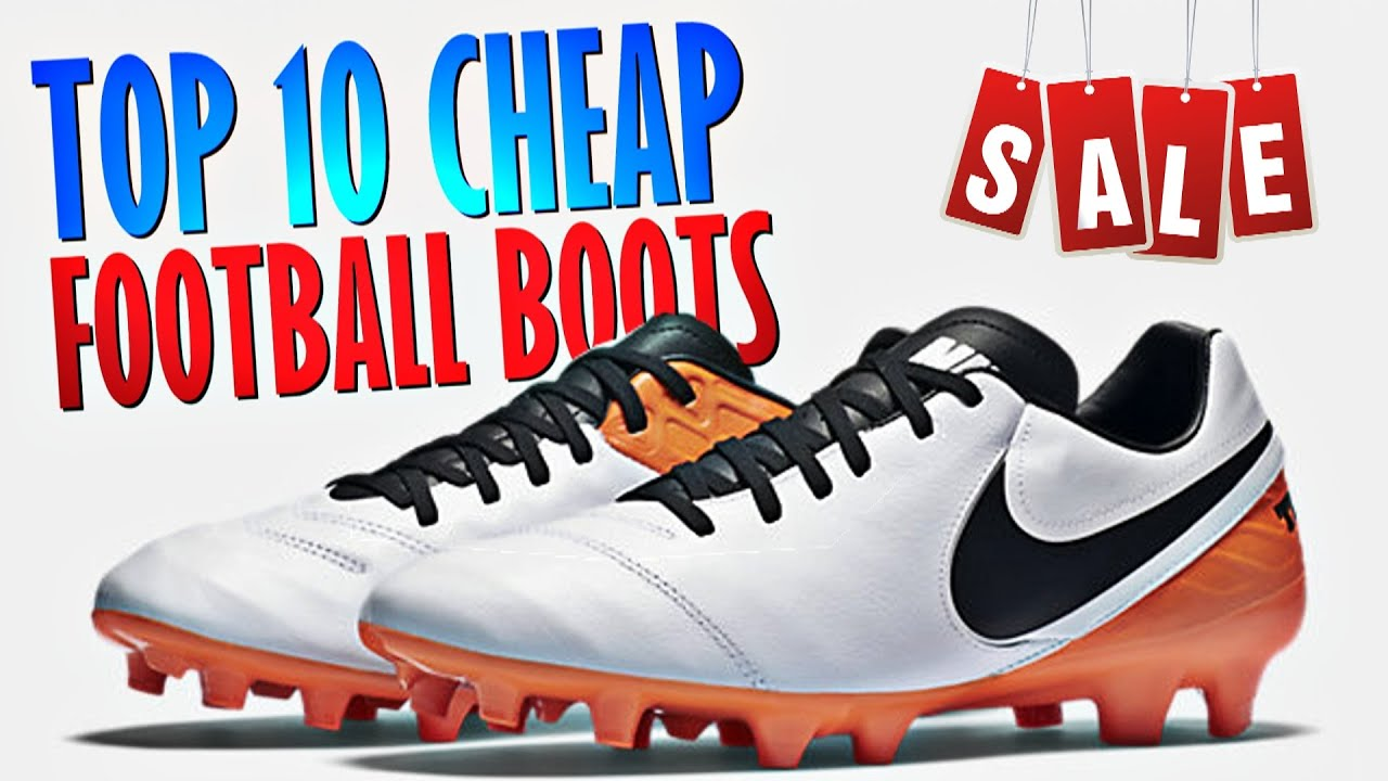 4f91066c853f Top 10 Cheap Football Boots 2016 - YouTube