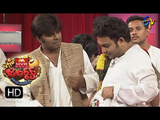 Extra Jabardasth - Sudigaali Sudheer Performance - 22nd January 2016 - ఎక్స్ ట్రా జబర్దస్త్