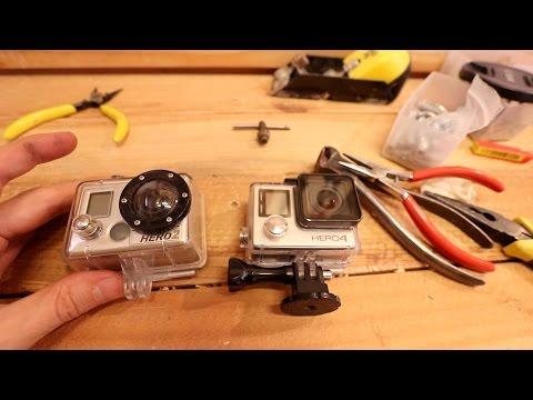 How to fix broken Gopro housing clip DIY