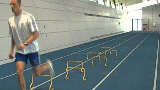 J Deacon Hurdles and Running Drills