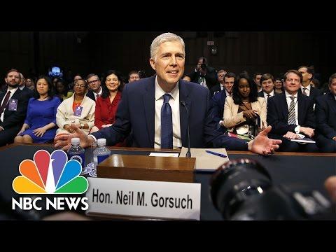 Neil Gorsuch's Supreme Court Confirmation Hearing - Day 2 (Full Hearing) | NBC News - Neil Gorsuch's Supreme Court Confirmation Hearing - Day 2 (Full Hearing) | NBC News