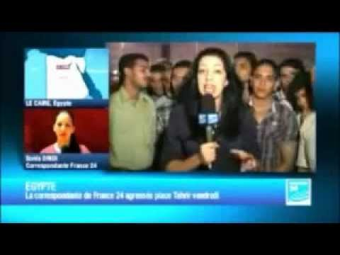 French Reporter Attacked In Egypt - On Live TV