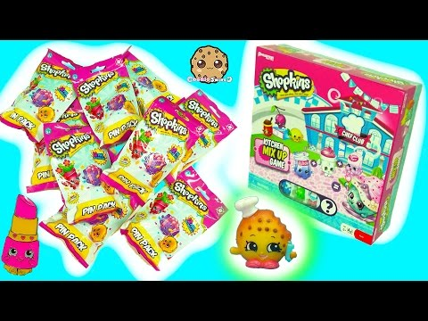 Thumbnail: Season 6 Chef Club Kitchen Game, Limited Edition DVD Shopkins + Surprise Blind Bags