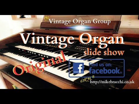 Vintage Organ Slideshow #1
