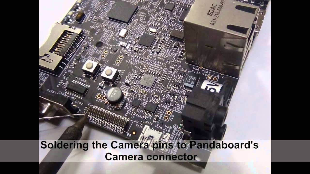 Getting started with e-CAM51_44x - 5 MP MIPI CSI-2 OEM Camera Board for  TI's OMAP4