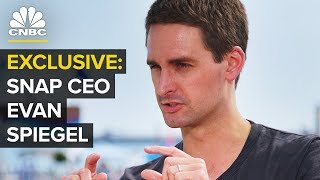 Snap CEO Evan Spiegel from Cannes
