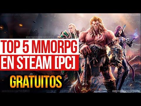 TOP 5 Mejores Juegos MMORPG en STEAM para PC (GRATIS) 🎮Excelentes Juegos MMORPG Free To Play!🎮