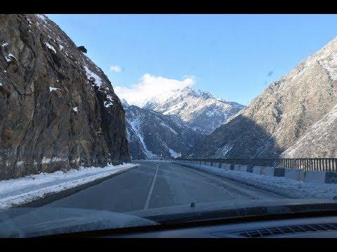 Крестовый перевал зимой