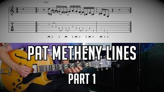 Must Know Pat Metheny (Jazz) Fragments (1 of 3) w/ TABs