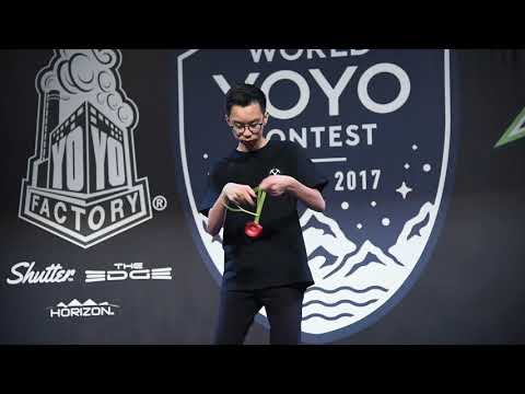 World Yoyo Contest 2017 1A Semi 20th Harrison Lee   film by C3yoyodesign