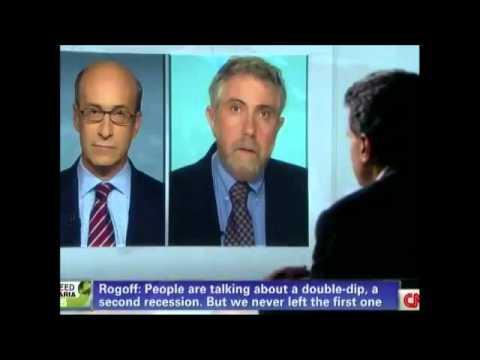 Paul Krugman v Kenneth Rogoff (1/2)