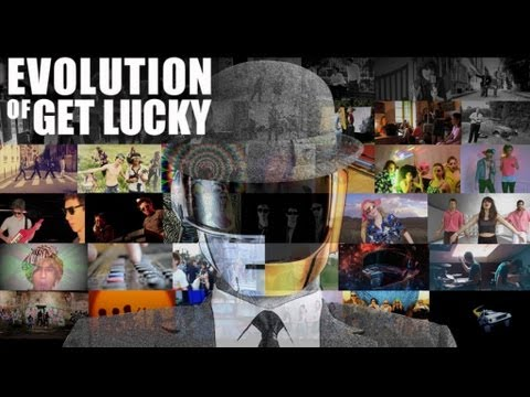 CLIP Evolution of Get Lucky [Daft Punk Chronologic Cover]
