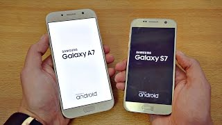 samsung Galaxy A7 2017 vs Samsung Galaxy A5 2017