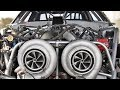 MASSIVE Twin 88mm Turbos on a Mustang (all the boost!)