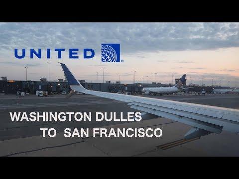 Lightning storm! United Airlines UA1210 737-900 Washington Dulles to San Francisco