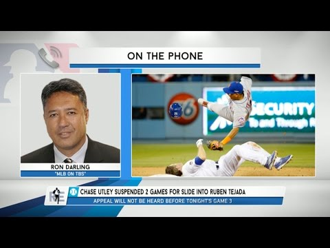 Ron Darling of MLB on TBS on Chase Utley Slide That Broke Ruben Tejada