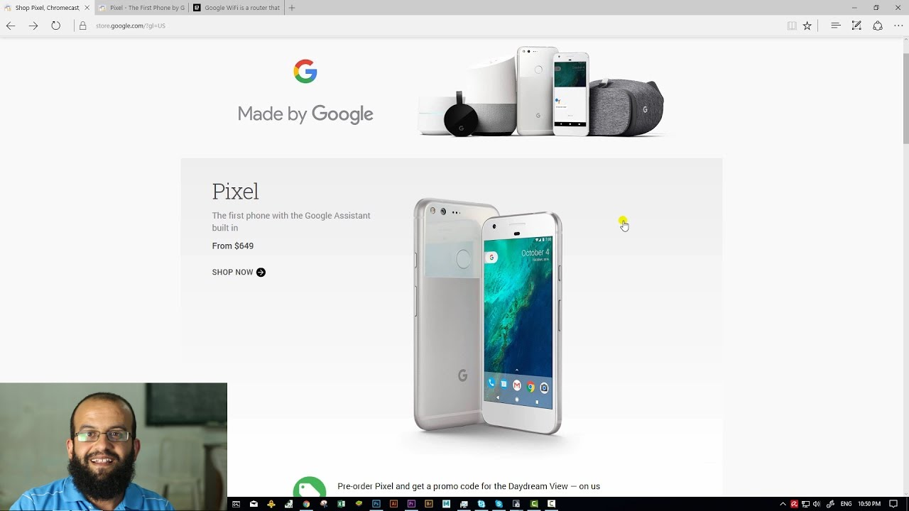 جوجل بكسل بالعربي Google Pixel Made by Google - Arabic