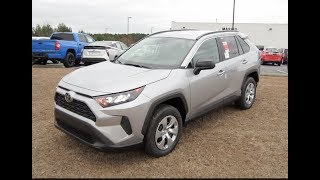 2019 Toyota Rav4 LE AWD Full Tour & Start-up at Massey Toyota