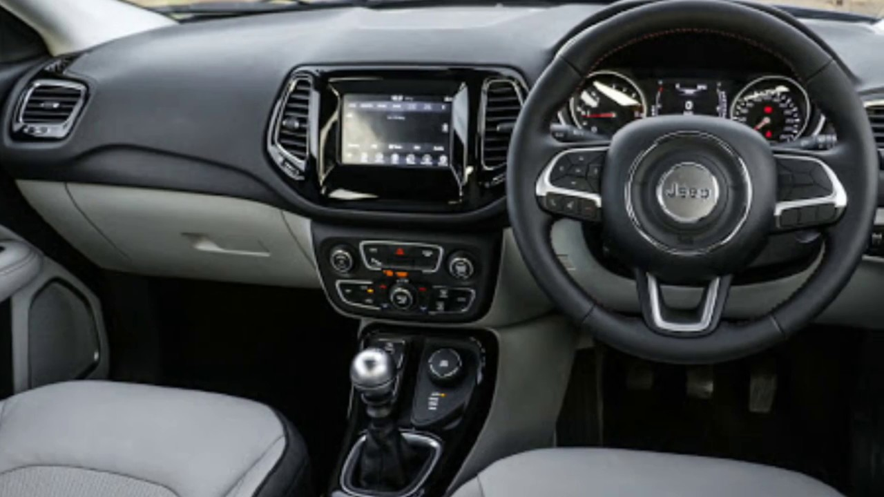 Jeep Compass Indian Model Interior Colours