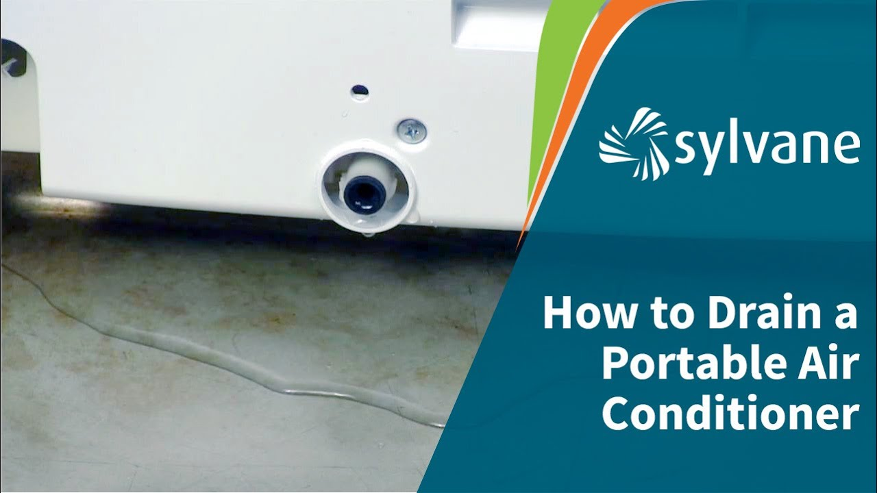 How To Drain A Portable Ac Fully Vs Partially