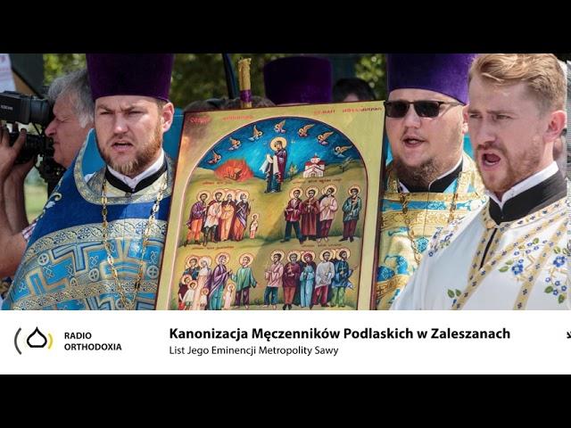 Kanonizacja Męczenników Podlaskich w Zaleszanch