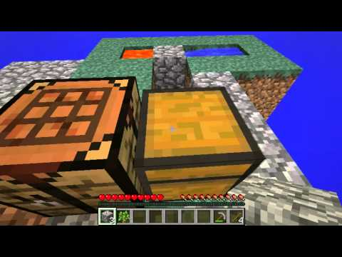 How do you make a cobblestone generator in minecraft with ice