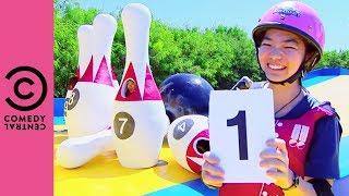 Takeshi's Castle | Human Skittles