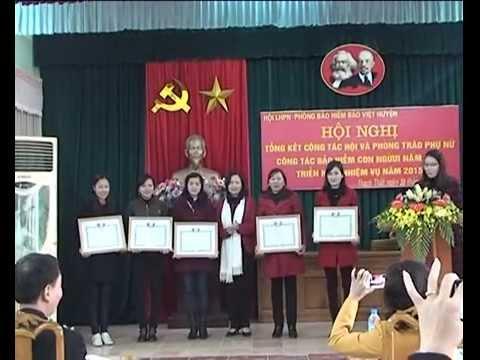 Hội phụ nữ huyện Thạch Thất tổng kết công tác phụ nữ năm 2014 và phương hướng nhiệm vụ năm 2015
