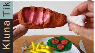 EATING EDIBLE PLAY-DOH FOOD!  - KLUNATIK (2019) - 粘土, пластилин, pâte à modeler mangeant, 橡皮泥
