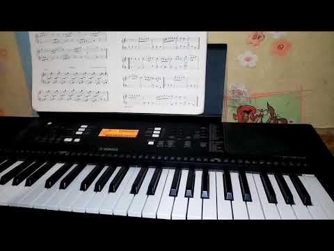 Ой на гори два дубкы. Украинская народная песня. Играем на синтезаторе.