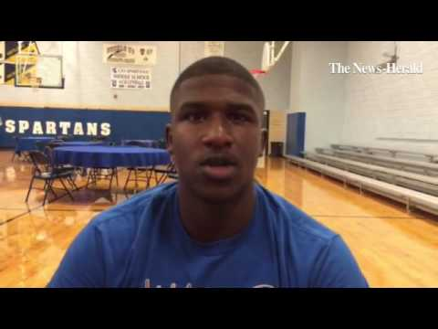 Richmond Hts Kenneth Townsend on being a team leader in 2016.